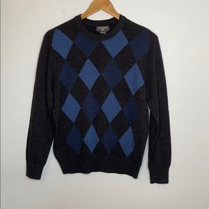 Dockers blue and dark grey sweater - small